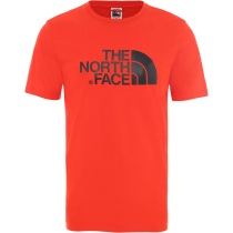 Buy M S/S Easy Tee Fiery Red/Tnf Black