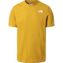 Buy M S/S Redbox Tee  - Eu Arrow Wood Yellow