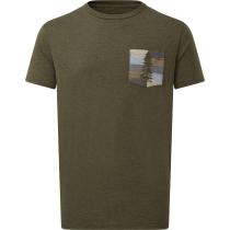 Acquisto M Spruce Stripe Pocket T-Shirt Olive Night Green Heather