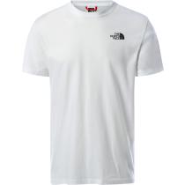 Buy M SS Redbox Celebration Tee Tnf White/Tnf Black