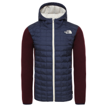 M ThermoBall Gordon Lyons Hoodie Montague Blue/Deep Red Heather