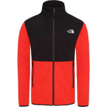 Kauf M TKA Glacier Full Zip Jacket Fiery Red/Tnf Black
