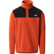Buy M Tka Glacier Snap-Neck Pullover Burnt Ochre/Tnf Black