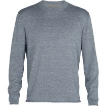 Buy M Flaxen LS Crewe Sweater Gravel