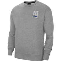 Compra M Nk Sb Stripes Crew Dk Grey Heather/White