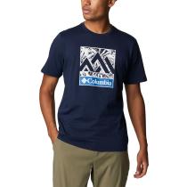 Acquisto M Rapid Ridge Graphic Tee M Collegiate Navy Triple Peak