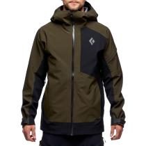 Buy M Recon Stretch Ski Shell Cypress-Black