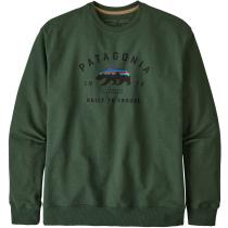 Achat M's Arched Fitz Roy Bear Uprisal Crew Sweatshirt Alder Green