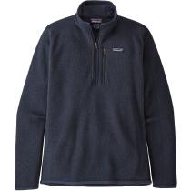 Kauf M's Better Sweater 1/4 Zip New Navy