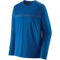 Achat M's L/S Cap Cool Merino Graphic Shirt Fitz Roy Fader/Alpine Blue