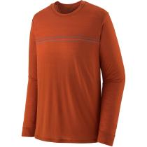 Achat M's L/S Cap Cool Merino Graphic Shirt Fitz Roy Fader/Sandhill Rust