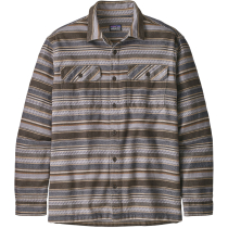 Kauf M's L/S Fjord Flannel Shirt Folk Dobby: Bristle Brown