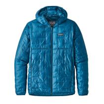 Compra M's Micro Puff Hoody Balkan Blue