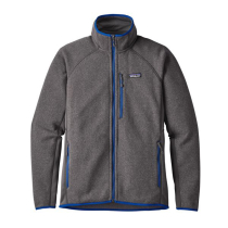 Buy M's Performance Better Sweater Jkt Forge Grey Viking Blue
