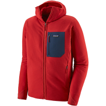 Buy M's R2 TechFace Hoody Fire