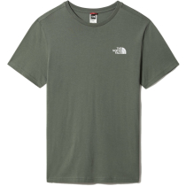 Buy M S/S Simple Dome Tee Agave Green