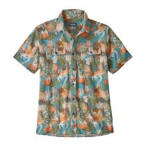 Achat M's Steersman Shirt Wild Waratah: Matcha Green