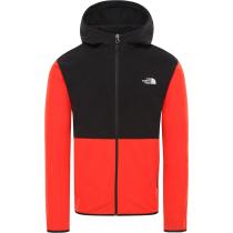 Acquisto M Tka Glacier Full Zip Hoodie Fiery Red/TNF Black