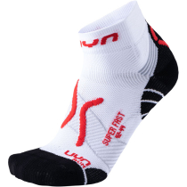 Compra Man Run Super Fast Socks White/Red