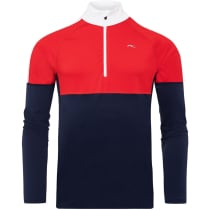 Buy Men's Race Midlayer Half-Zip Atlanta/Scarlet
