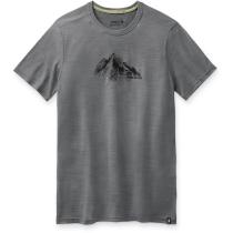Achat Men's Merino Sport 150 Rocky Range Graphic Tee Light Gray Heather