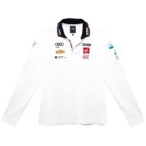 Acquisto Men Solid Color T-Shirt White-Black