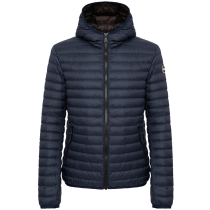 Acquisto Mens Down Jackets Navy Blue-Coffee