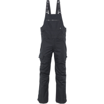 Buy Mens Hot Lap Insulated Bib Black