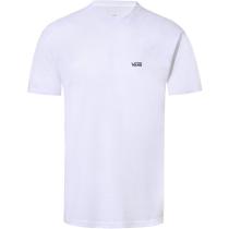 Buy Mens Left Chest Logo Tee White Black
