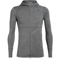 Achat Mens Quantum II LS Zip Hood Gritstone Heather