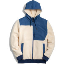 Acquisto Mens Recycled Sherpa Jacket Cream