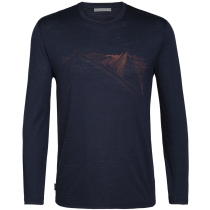 Acquisto Mens Spector LS Crewe Peak in Reach Midnight Navy