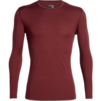 Buy Mens 200 Oasis LS Crewe Cabernet