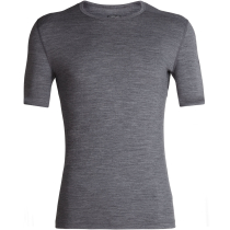 Mens 200 Oasis SS Crewe Gritstone Heather