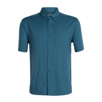 Achat Mens Compass SS Shirt Thunder Timberwolf Dobby