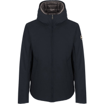 Achat Mens Down Jacket Navy Blue-Iron