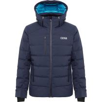 Achat Mens Down Ski Jacket Chamonix Blue Black-Blue Black