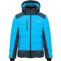 Achat Mens Down Ski Jacket Chamonix Mirage-Blue Black
