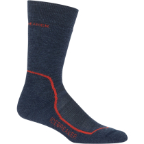 Buy Mens Hike+ Medium Crew Fathom Heather/Midnight Navy/Chili Red