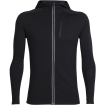Buy Mens Quantum LS Zip Hood Black
