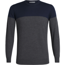 Achat Mens Shearer Crewe Sweater Midnight Navy/Char Heather