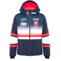 Kauf Mens Ski Jacket Réplica Equipe de France  Blue Black