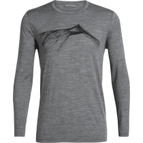 Achat Mens Tech Lite LS Crewe Shear Gritstone Heather