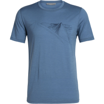 Kauf Mens Tech Lite SS Crewe Peak in Reach Thunder