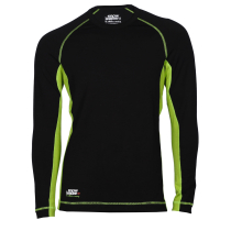 Buy Merinos Top LS Black/Green