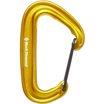 Buy Miniwire carabiner yellow