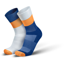 Buy Mirrored Socks Orange