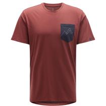 Buy Mirth Tee Men Maroon Red/Slate