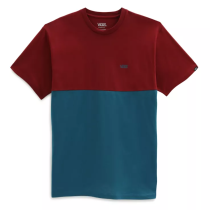 Achat Mn Colorblock Tee Blue Coral Pomegranate