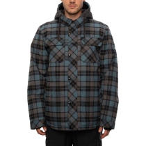 Kauf Mns Woodland Insulated Jacket Goblin Blue Plaid